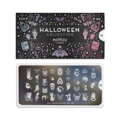 MoYou London, Плитка для стемпинга Halloween №02