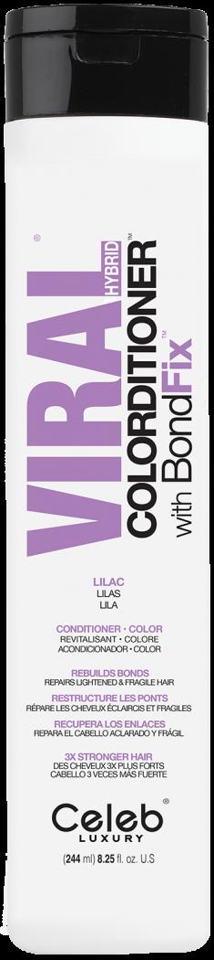CELEB LUXURY Кондиционер тонирующий, сиреневый / Viral Lilac Colorditioner 244 мл
