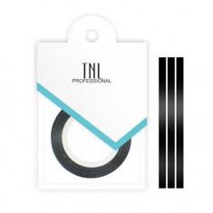 TNL, Нить на клеевой основе, черная TNL Professional