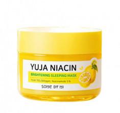 Маска ночная для сияния кожи SOME BY MI Yuja Niacin 30 Days Miracle Brightening Sleeping Mask 60г