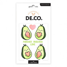 Татуировка для тела DE.CO. KAWAII by Miami tattoos переводная Avocado