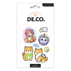 Татуировка для тела DE.CO. KAWAII by Miami tattoos переводная Pets