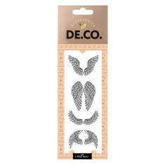 Татуировка для тела DE.CO. REAL TATTOO by Miami tattoos переводная Angel wings