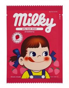 Маска тканевая отшелушивающая с клубникой Holika Holika Peko Jjang Jelly Mask Sheet Strawberry 32 мл