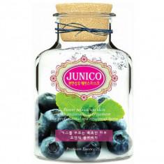 маска тканевая c экстрактом черники mijin junico blueberry essence mask