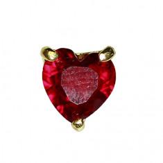 Ice Nova, Сердце красное D18, золотое