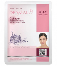 Тканевая маска коллаген Dermal Collagen Essence Mask 23 мл