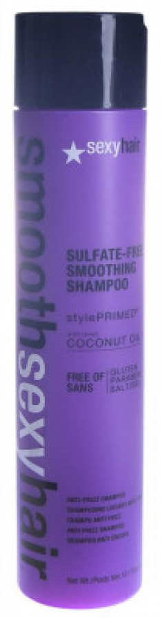 Шампунь разглаживающий без сульфатов SEXY HAIR SMOOTH 300мл
