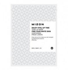 Тканевая маска осветляющая MIZON Enjoy Vital Up Time Tone Up Mask
