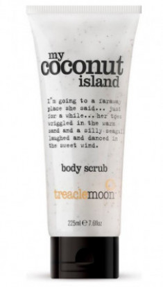Скраб для тела кокосовый рай Treaclemoon My Coconut Island Body Scrub 225 мл
