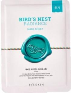Тканевая маска с экстрактом гнезда ласточки It'S SKIN Bird's nest Radiance Mask Sheet 22 г