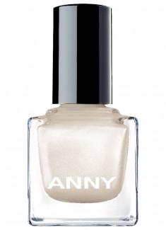 Лак для ногтей Белый с искрой ANNY