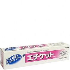 Зубная паста освежающего действия для профилактики неприятного запаха Etiquette LION