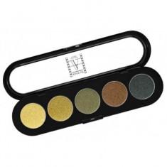 Палитра теней, 5 цветов Make-Up Atelier Paris T18 амазонка атласные тона