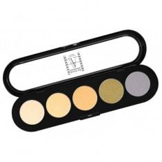 Палитра теней, 5 цветов Make-up Atelier Paris T04 гамма для блондинок