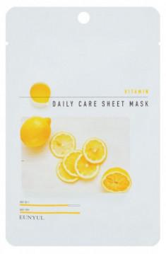 Набор тканевых масок с витаминами EUNYUL VITAMIN DAILY CARE SHEET MASK 22г*3 шт