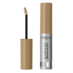 Тушь для бровей LOREAL PLUMP & SET BROW ARTIST тон 103 warm blonde