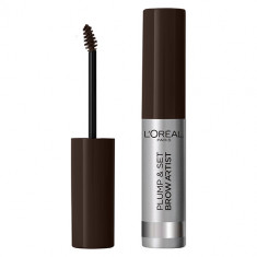 Тушь для бровей LOREAL PLUMP & SET BROW ARTIST тон 108 dark brunette