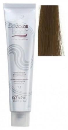 Крем-краситель полуперманентный безаммиачный Kaaral Baco Soft Color 6.85 коричнево-махагоновый темный блондин 60 мл