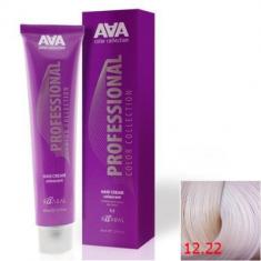 Крем-краска для волос стойкая Kaaral ААА Hair Cream Colorant 12.22 экстра светлый интенсивный фиолетовый блондин 100 мл
