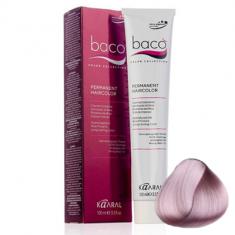 Крем-краска Kaaral Baco Color 10.16 очень-очень светлый блондин пепельно-розовый 100 мл
