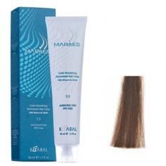 Крем-краситель стойкий без аммиака Kaaral Maraes Nourishing Permanent Hair Color 6.0 темный блондин 60 мл