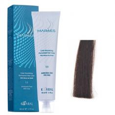 Крем-краситель стойкий без аммиака Kaaral Maraes Nourishing Permanent Hair Color 4.0 каштан 60 мл