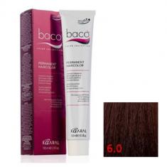 Крем-краска Kaaral Baco Color 6.0 темный блондин 100 мл