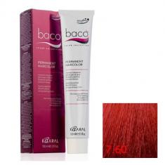 Крем-краска Kaaral Baco Color 7.60 красный блондин 100 мл