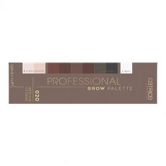 Палетка теней для бровей CATRICE PROFESSIONAL BROW PALETTE тон 020 medium to dark