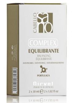 NIRVEL PROFESSIONAL Лосьон-комплекс для чувствительной кожи головы / BALANSING COMPLEX 2*30 мл
