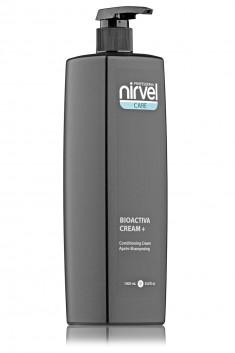 NIRVEL PROFESSIONAL Крем-кондиционер питательный с протеинами пшеницы для всех типов волос / BIOACTIVE CREAM PLUS 1000 мл