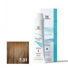 TNL, Крем-краска для волос Million Gloss 7.31 TNL Professional