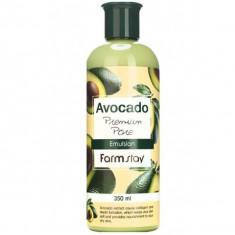 антивозрастная эмульсия с экстрактом авокадо farmstay avocado premium pore emulsion