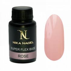 Nika Nagel, База Super Flex, Rose, 30 мл