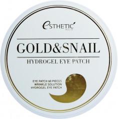 Esthetic House Gold And Snail Hygrogel Eyepatch