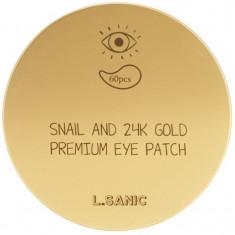 LSanic Snail and K Gold Premium Eye Patch L'Sanic