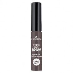 Тушь для бровей ESSENCE MAKE ME BROW гелевая тон 04