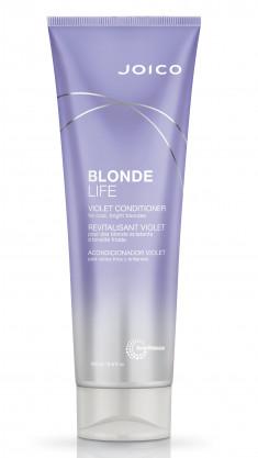 JOICO Кондиционер фиолетовый для холодных ярких оттенков блонда / Blonde Life Violet Conditioner 250 мл