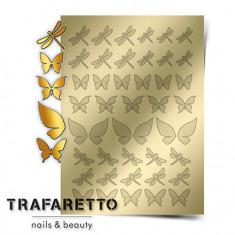 Trafaretto, Металлизированные наклейки BF-01, золото