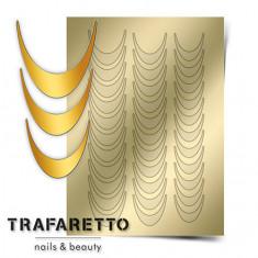 Trafaretto, Металлизированные наклейки CL-02, золото