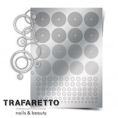 Trafaretto, Металлизированные наклейки GM-02, серебро
