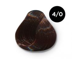 OLLIN PROFESSIONAL 4/0 краска для волос, шатен / OLLIN COLOR 100 мл