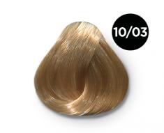 OLLIN PROFESSIONAL 10/03 краска для волос, светлый блондин прозрачно-золотистый / OLLIN COLOR 100 мл