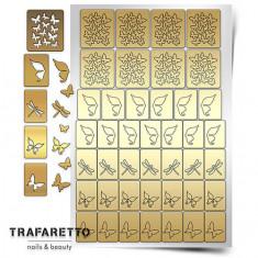 Trafaretto, Трафареты «Бабочки, стрекозки»