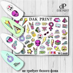 Dak Print, Слайдер-дизайн №1460