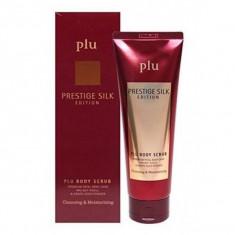скраб для тела ароматизированный plu prestige silk edition body scrub