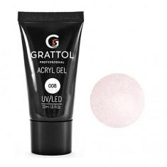 Grattol, Acryl Gel Glitter №08, 30 мл