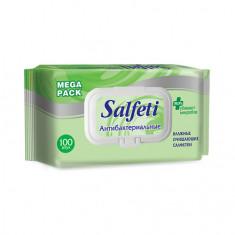 Salfeti, Антибактериальные салфетки, 100 шт.