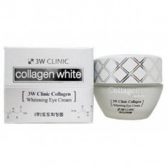 крем для век осветляющий с коллагеном 3w clinic collagen whitening eye cream